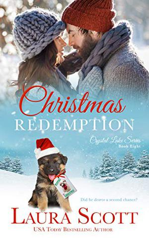 Christmas Redemption: A Small Town Christian Romance by Laura Scott