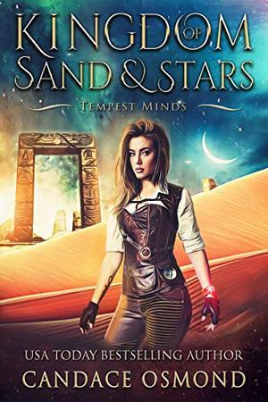 Tempest Minds: A Time Travel Fantasy Romance by Candace Osmond, Majeau Designs