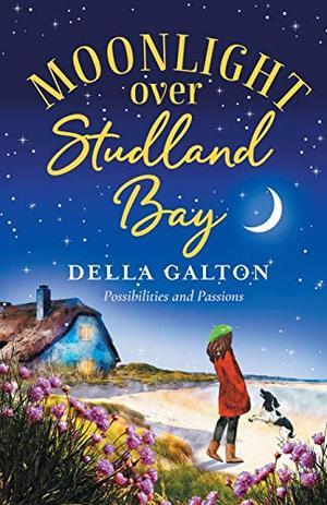 Moonlight Over Studland Bay by Della Galton