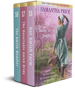 The Amish Bonnet Sisters Boxed Set: Books 16 - 18 : Amish Romance by Samantha Price
