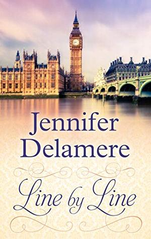 Line by Line (Thorndike Press Large Print Christian Romance: Love Along the Wires) by Jennifer Delamere