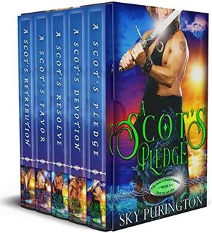 The MacLomain Series: End of an Era : A Time Travel Romance Boxed Set by Sky Purington