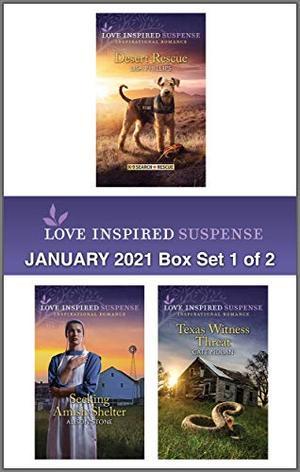 Harlequin Love Inspired Suspense January 2021 - Box Set 1 of 2 by Lisa Phillips, Alison Stone, Cate Nolan