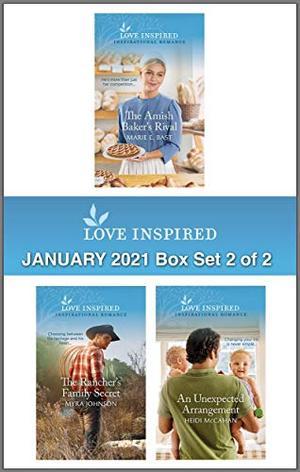 Harlequin Love Inspired January 2021 - Box Set 2 of 2: An Anthology by Marie E. Bast, Myra Johnson, Heidi McCahan