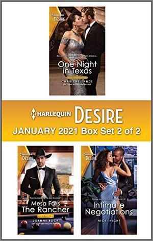 Harlequin Desire January 2021 - Box Set 2 of 2 by Charlene Sands, Joanne Rock, Nicki Night