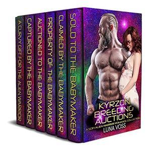 Kyrzon Breeding Auctions: A SciFi Alien Warrior Romance Collection by Luna Voss
