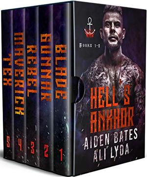Hell's Ankhor Books 1 - 5: An MM Romance (Hell's Ankhor Bundle) by Aiden Bates, Ali Lyda