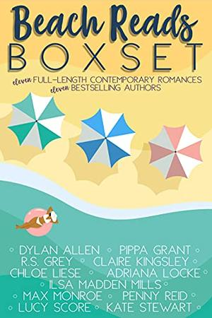Beach Reads Box Set: Perfect Vacation Reads by Ilsa Madden-Mills, Dylan Allen, R.S. Grey, Pippa Grant, Claire Kingsley, Chloe Liese, Adriana Locke, Max Monroe, Lucy Score, Kate Stewart