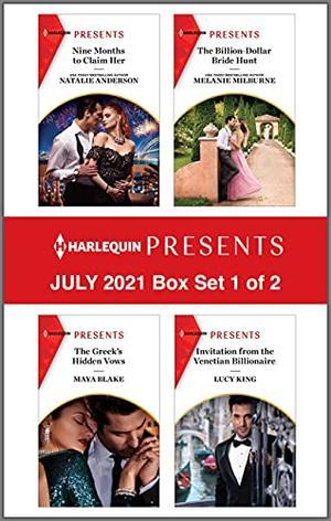 Harlequin Presents - July 2021 - Box Set 1 of 2 by Natalie Anderson, Maya Blake, Melanie Milburne, Lucy King