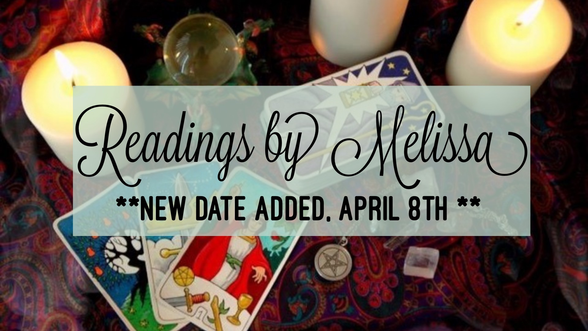 Readings by Melissa