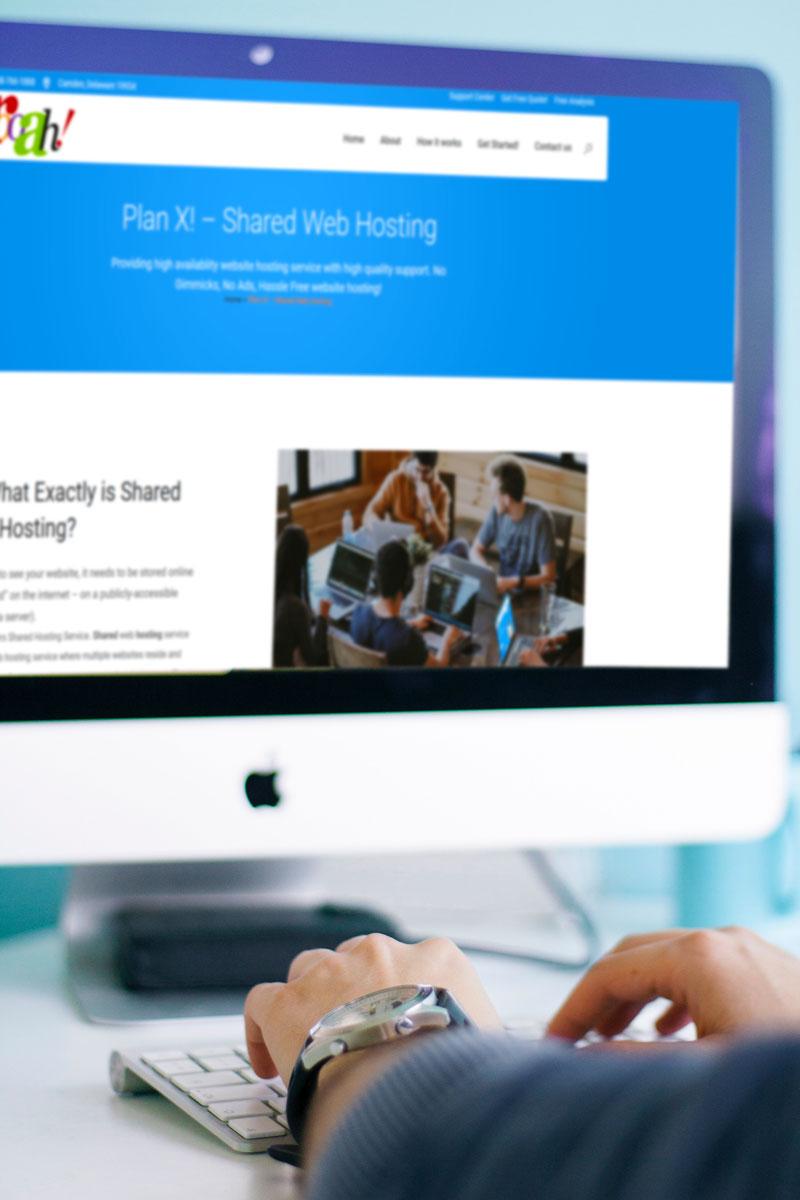 affordable shared web hosting service