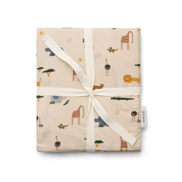 Carl Adult bedding Print / Safari Sandy Mix