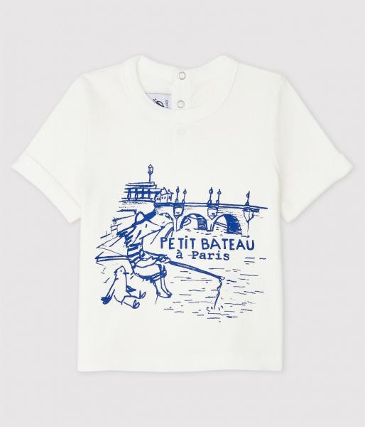 T-shirt Parijs / Wit