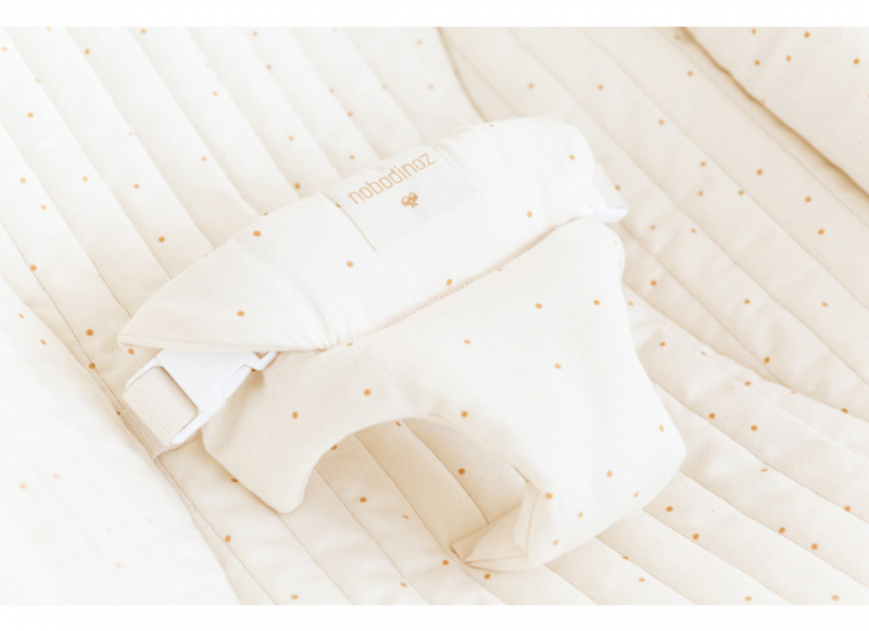 Growing Green Baby Bouncer Cover / Honey Sweet Dots Natural
