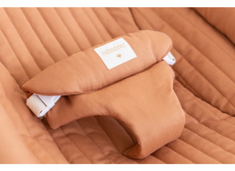 Growing Green Baby Bouncer Cover / Sienna Brown