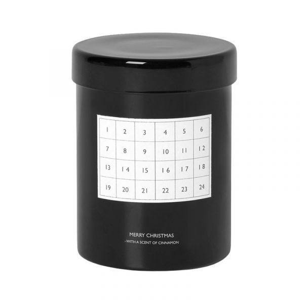 Scented Candle Calender / Black