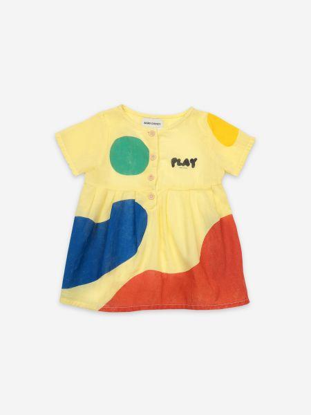 Play Landscape Buttoned Dress