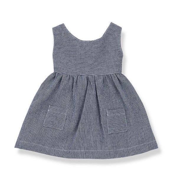 Pompeya Dress / Blue Notte