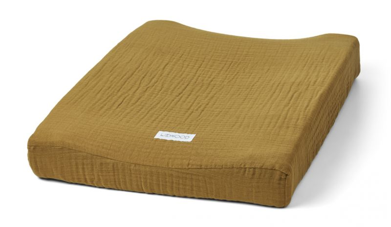 Cliff Muslin Changing Mat Cover / Olive Green