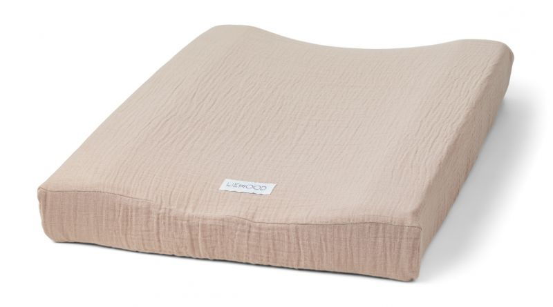Cliff Muslin Changing Mat Cover / Rose