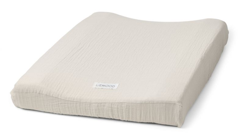 Cliff Muslin Changing Mat Cover / Sandy