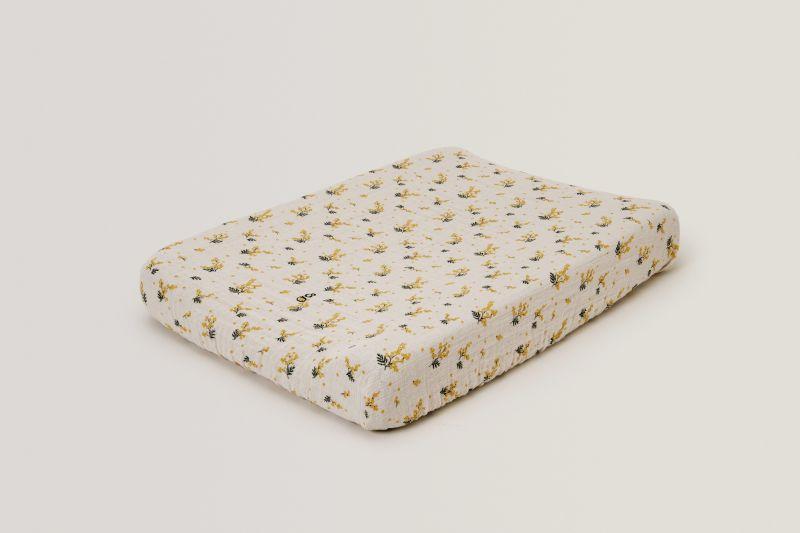 Mimosa Muslin Changing Mat Cover