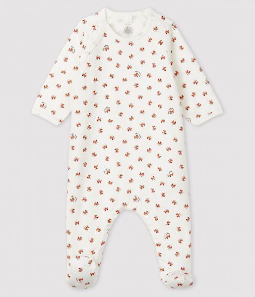 Pyjama Met Voetjes / Vossenprint