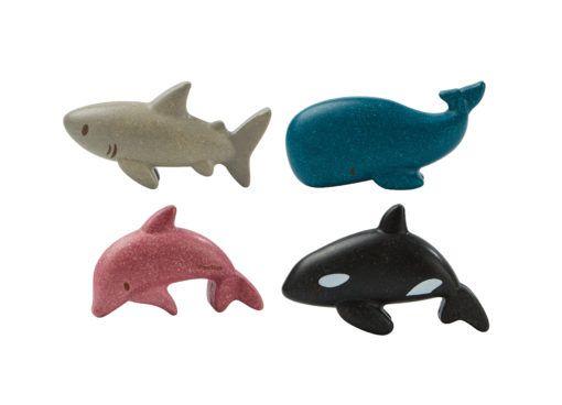 Zeedieren Set