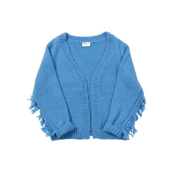 Casual Cassowary Cardigan / Blue