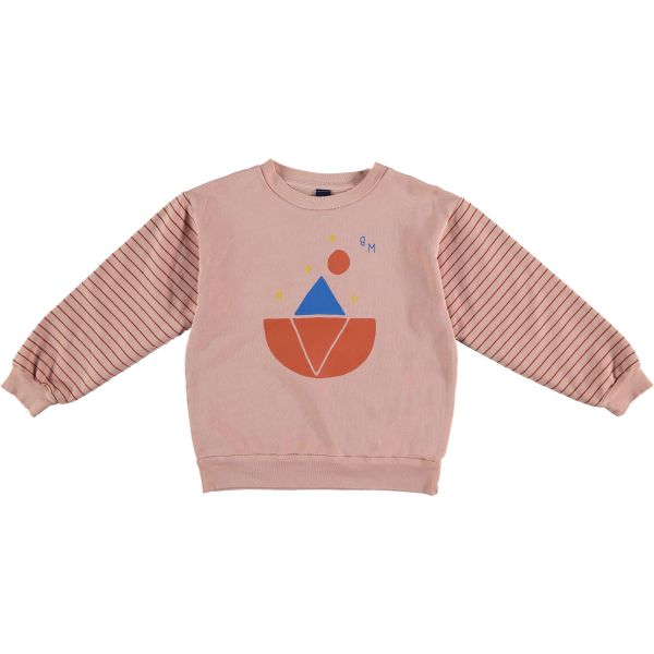 Sweatshirt Iceberg Night / Tan Rose
