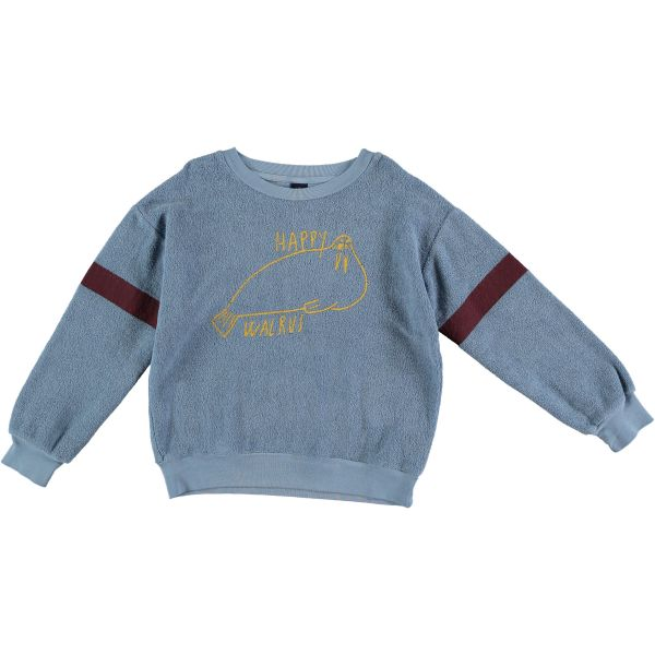 Sweatshirt Walrus / Artic Blue
