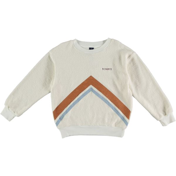 Sweatshirt Mountains / Ecru