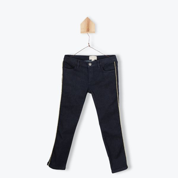 Pantalon denim fille
