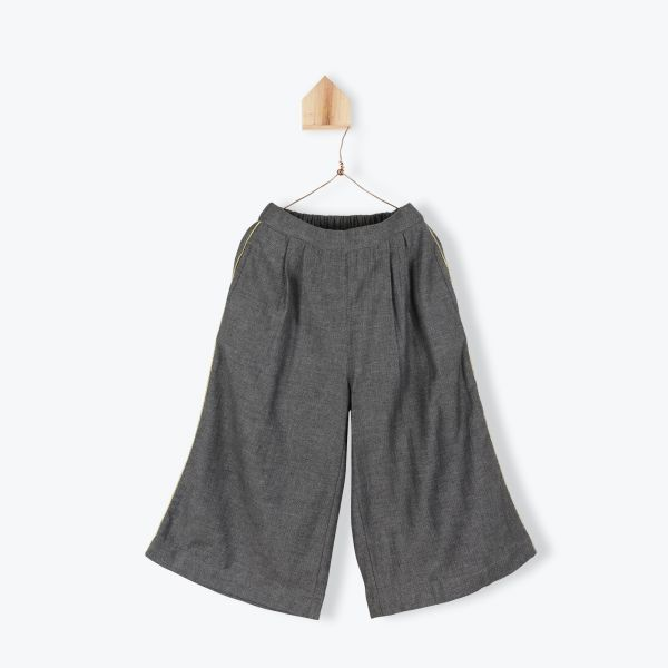 Jupe Culotte Tweed / Anthracite