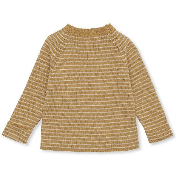Meo Knit Blouse Rib / Acacia - Beige