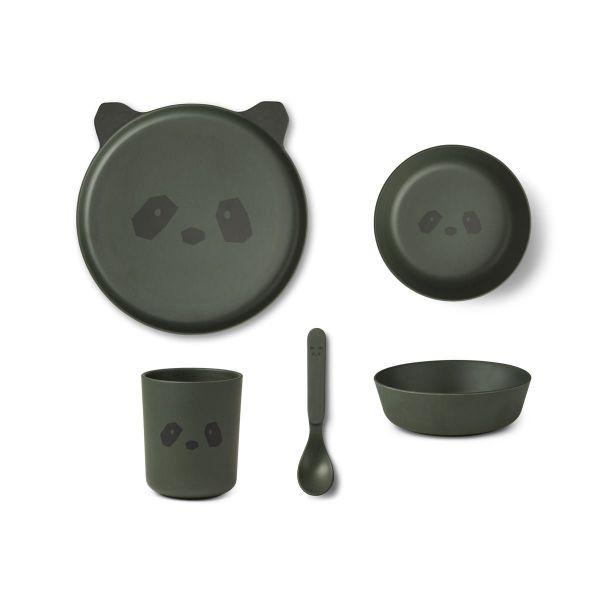 Bamboo Box Set / Panda Hunter Green