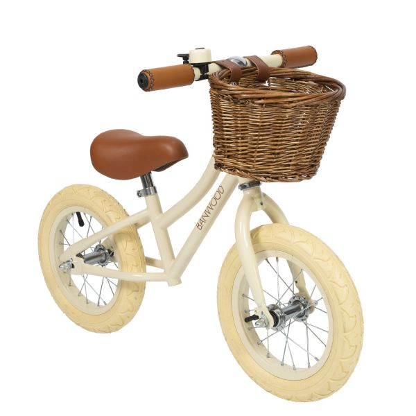 First go! Balance Bike / Cream