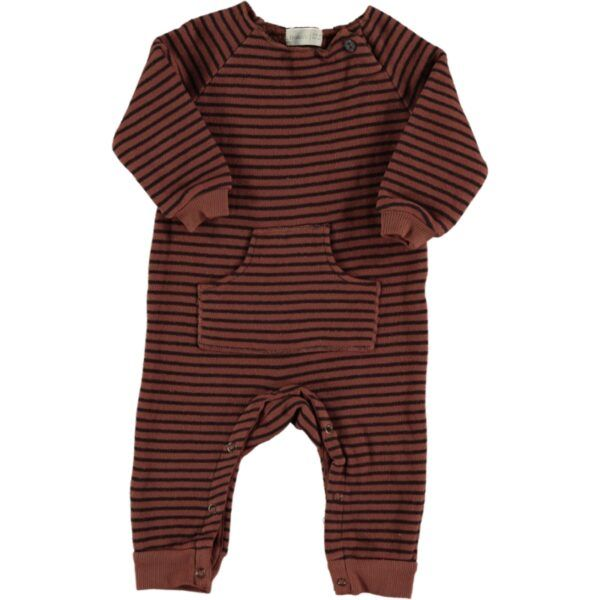 Owl Striped Warm Fleece Plays / Tile