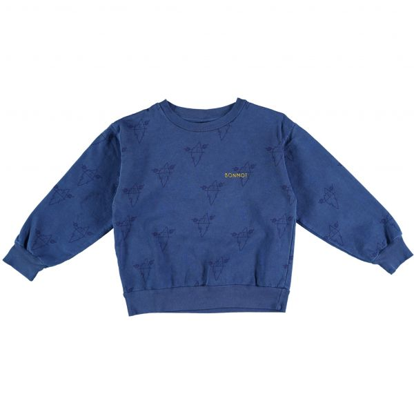 Sweatshirt Big Icebergs / Sea Blue
