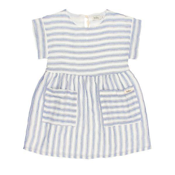 Diana Stripes Dress / Indigo