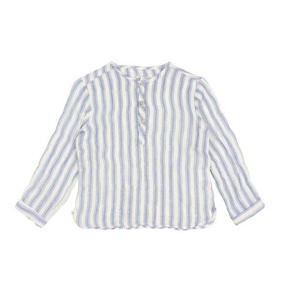 Paul Stripes Shirt / Indigo