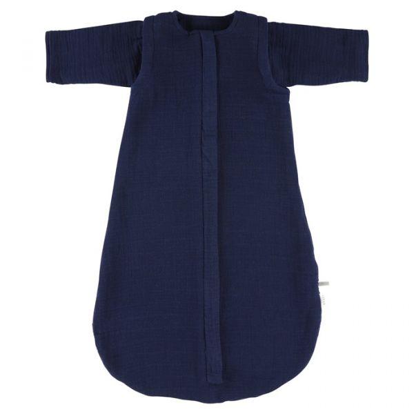 Muslin Sleeping Bag 70 cm / Bliss Blue