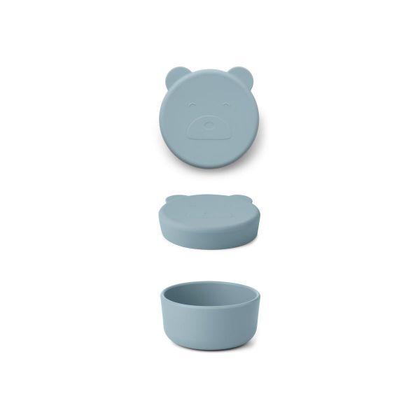 Carrie Snack Box / Mr Bear Sea Blue