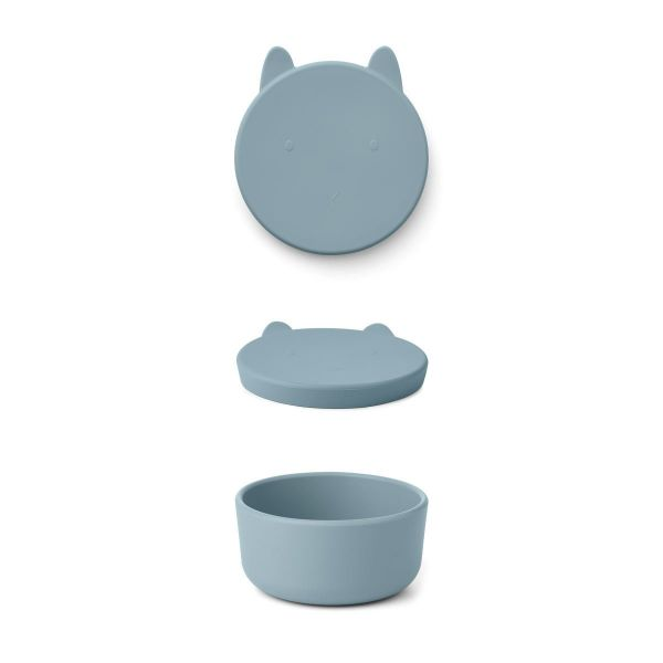 Charlot Snack Box / Rabbit Sea Blue
