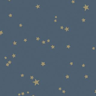 Behangpapier / Stars Midnight Blue