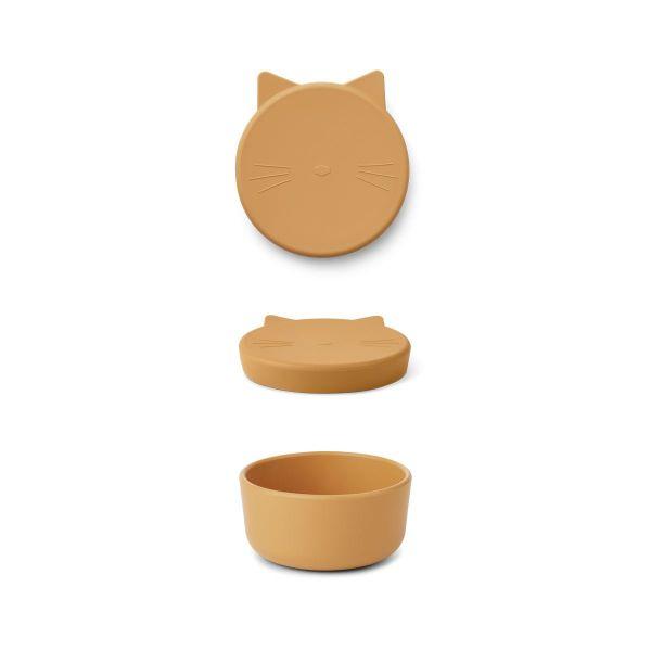 Cornelius Snack Box / Cat Yellow Mellow
