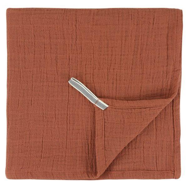 Muslin Cloths 55 x 55 cm / Bliss Rust