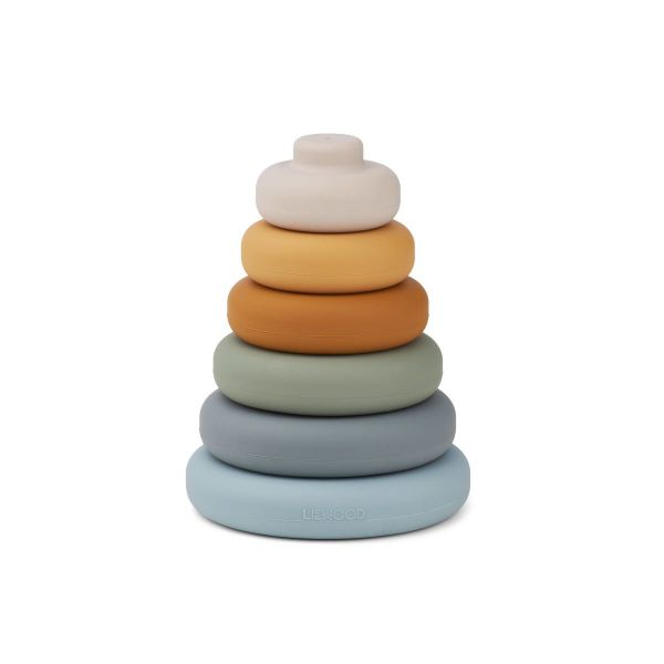 Dag Stacking Tower / Blue Multi Mix