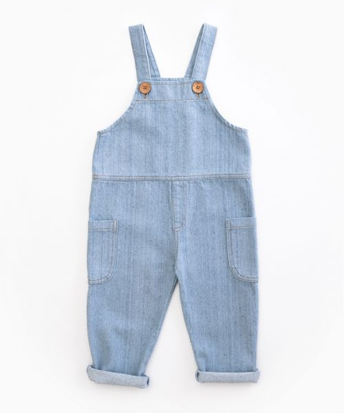 Denim Dungarees / Woodwork
