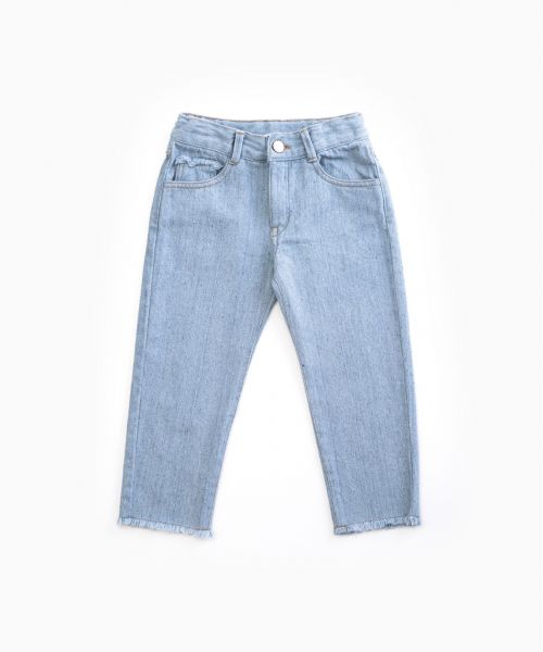 Denim trousers with pockets / Woodwork